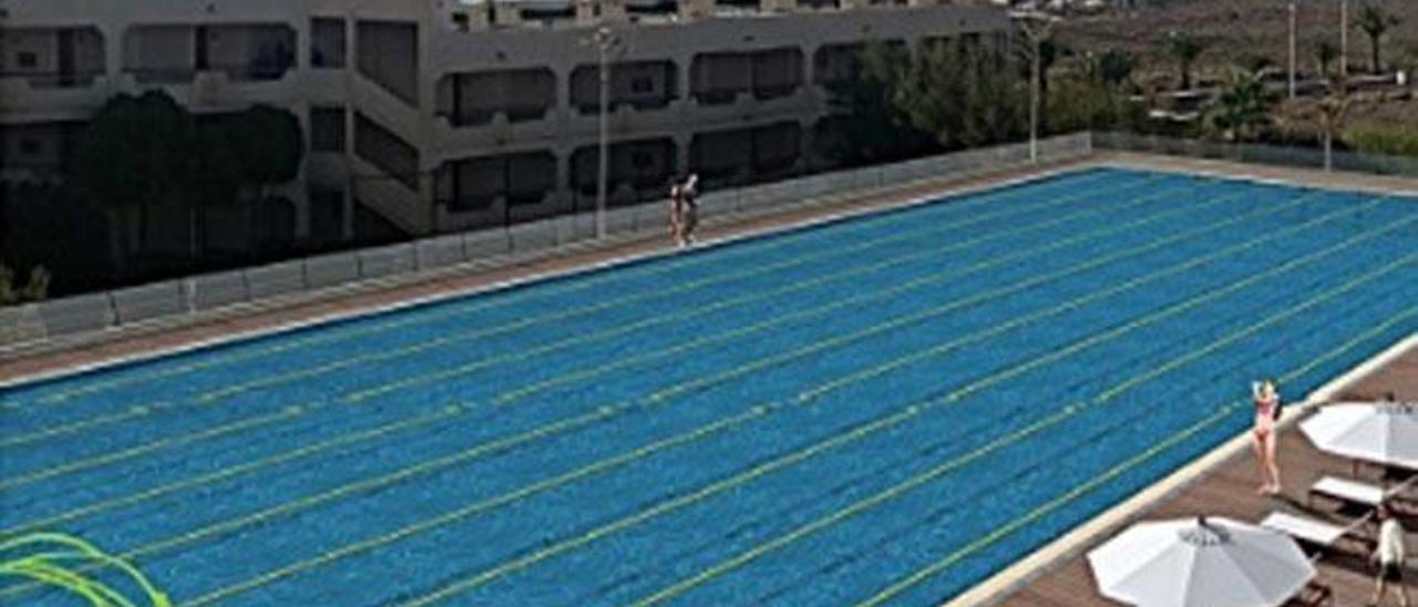 Barceló prevé iniciar en septiembre la construcción de su piscina olímpica
