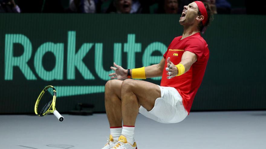 El tenis disfruta del mejor momento de Nadal