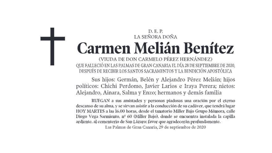 Carmen Melián Benítez