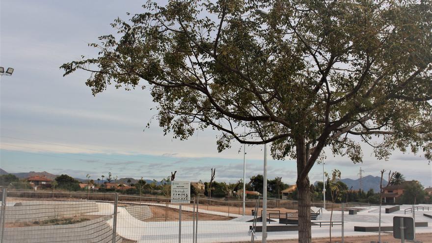 Culminan las obras del skatepark de San Vicente