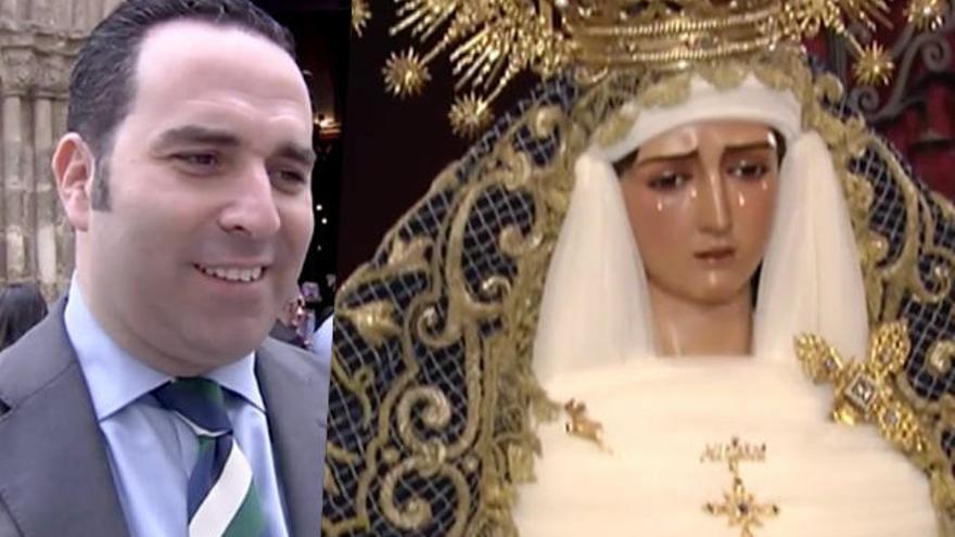 """Palabra de cofrade: """"La Virgen está exenta del coronavirus"""""""