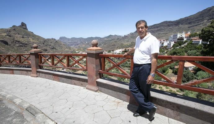 01.08.18. Tejeda, Gran Canaria. Entrevista a ...