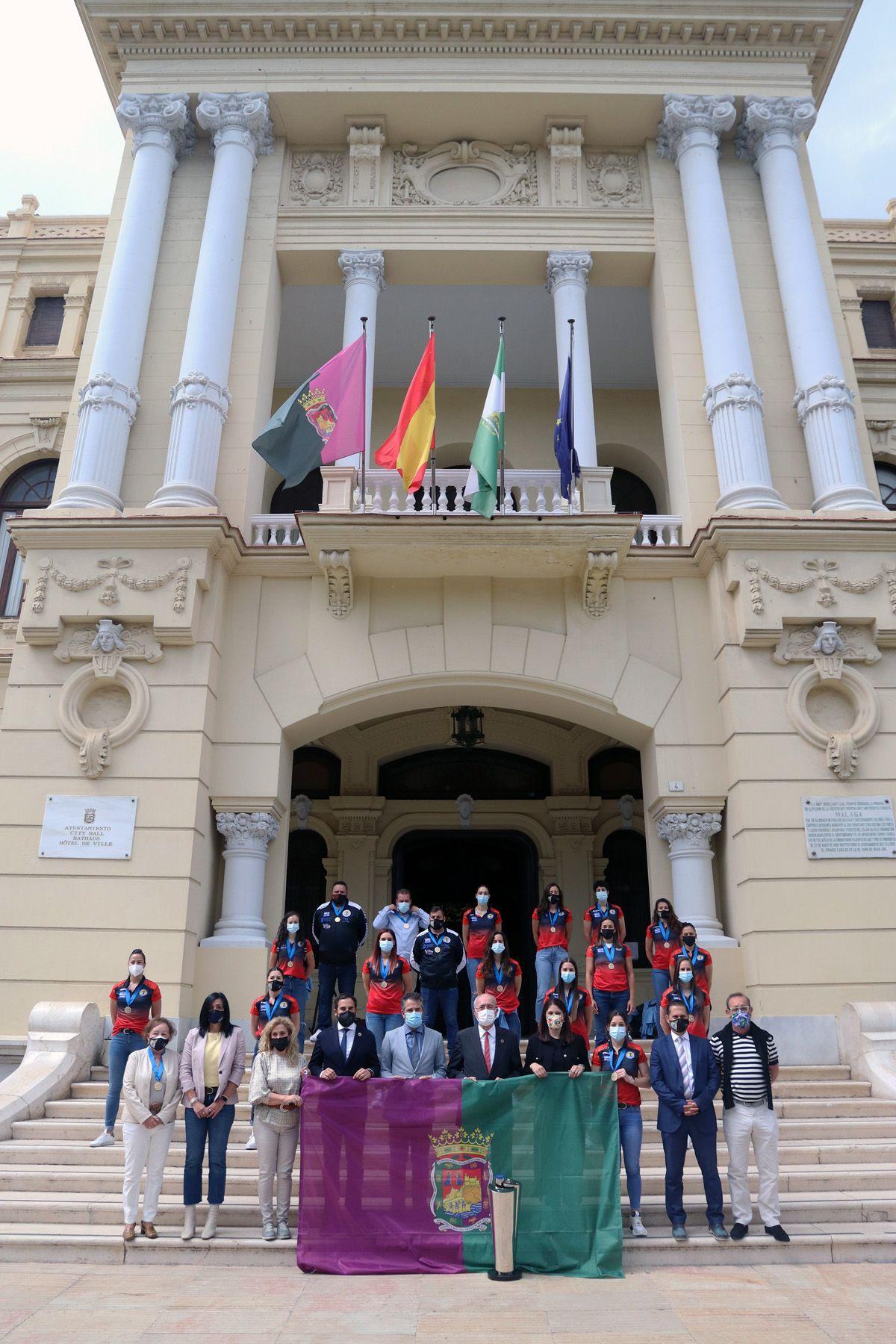El Rincón Fertilidad de Málaga, recibido en el Ayuntamiento