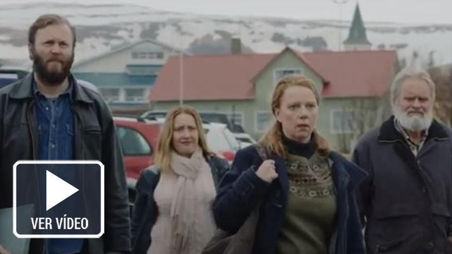 El paisaje islandés tiñe el conflicto ganadero que presenta 'Oro Blanco'