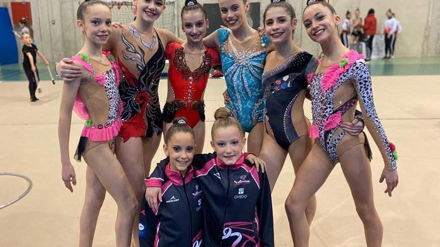 El Polideportivo de la Tejerona acogió el campeonato de Asturias Base Individual