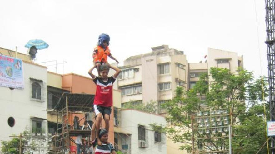 Torres humanes del món:els Govindes de l'Índia