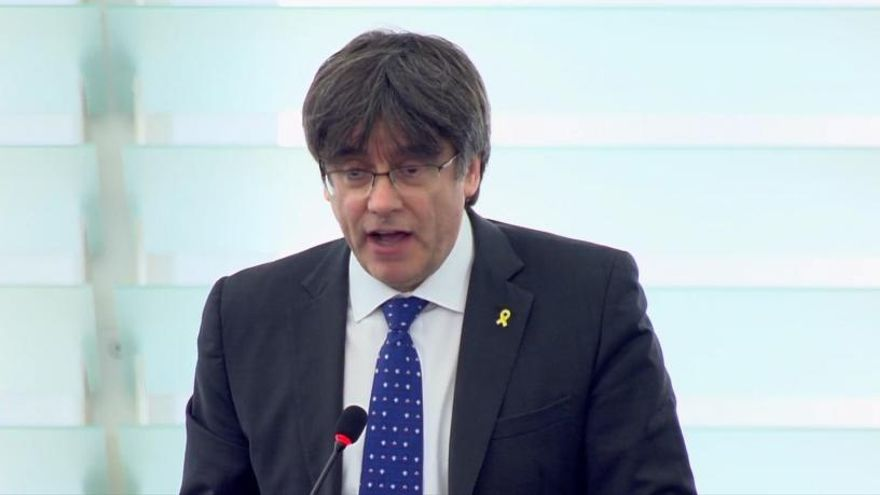 El fiscal defiende el suplicatorio de Puigdemont