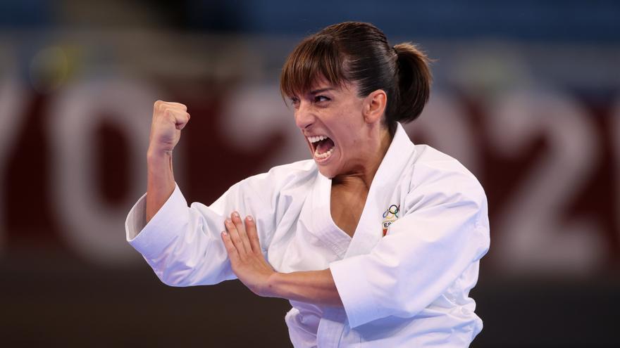 La familia de Sandra Sánchez celebra su medalla de oro
