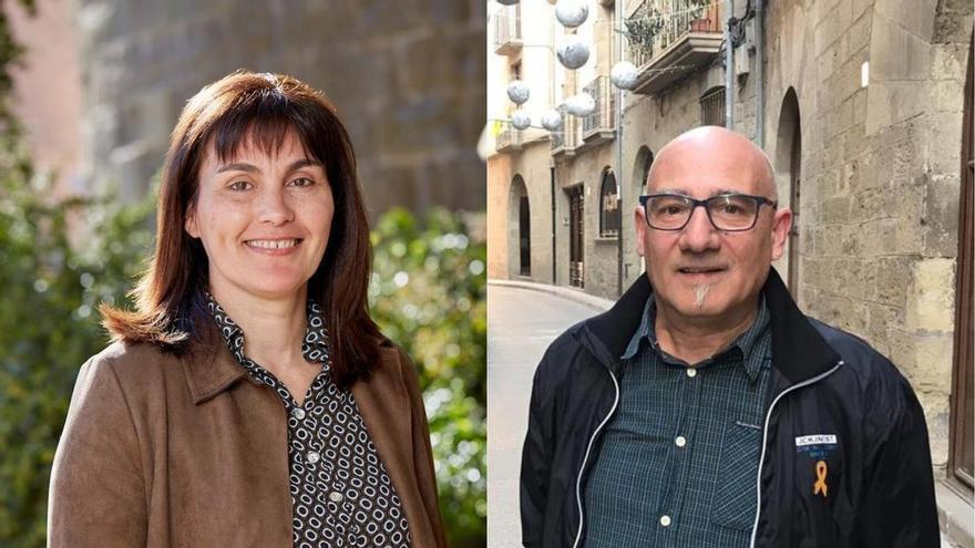 Isabel Roca, d'ERC, i César García, de Junts, prendran possessió com a regidors de Solsona aquest dijous