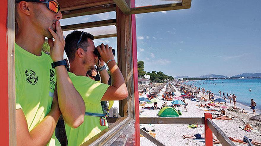 Sicheres Strandbad: Die Playa de Muro macht's vor