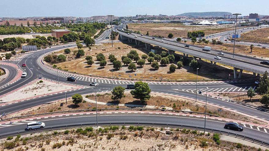Las rotondas de la provincia están entre las que más siniestros registran de España