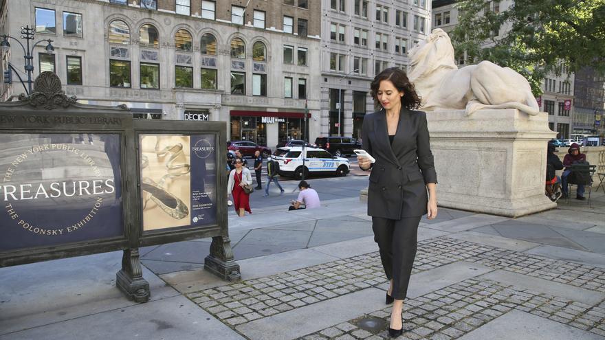 El económico vestido del Zara que Díaz Ayuso lleva a su visita a Estados Unidos y se agota rápidamente