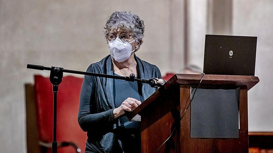 Catalina Cantarellas inaugura el curso de la Acadèmia