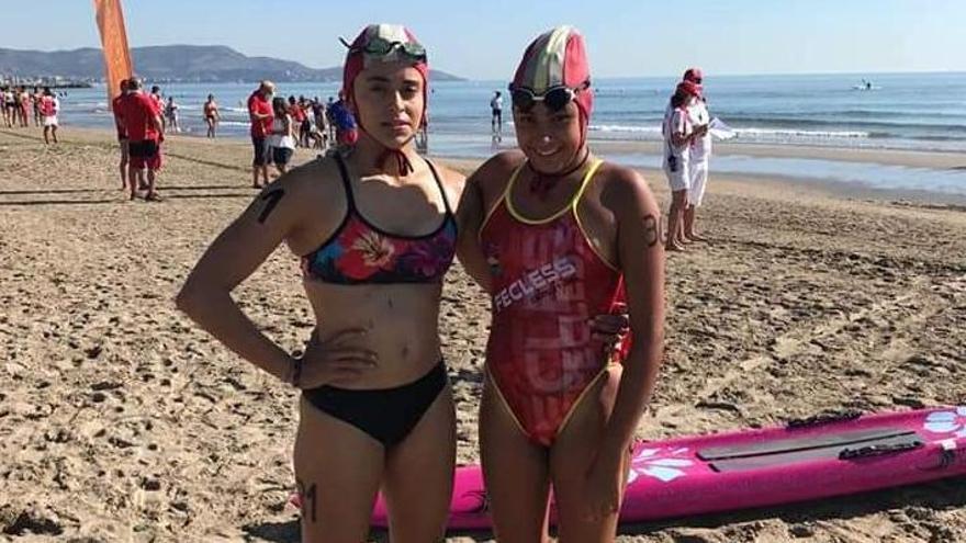 Bronces para Enya Bailón y Raquel Barrio