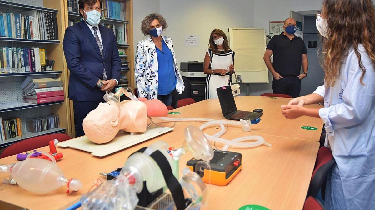 La UPCT sigue fabricando respiradores