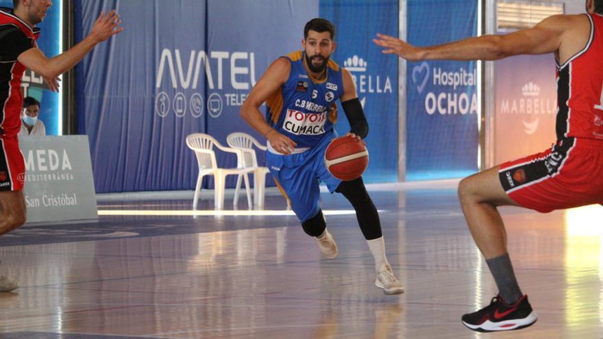 El CB Marbella se estrena con victoria 76-71 ante Basket Navarra
