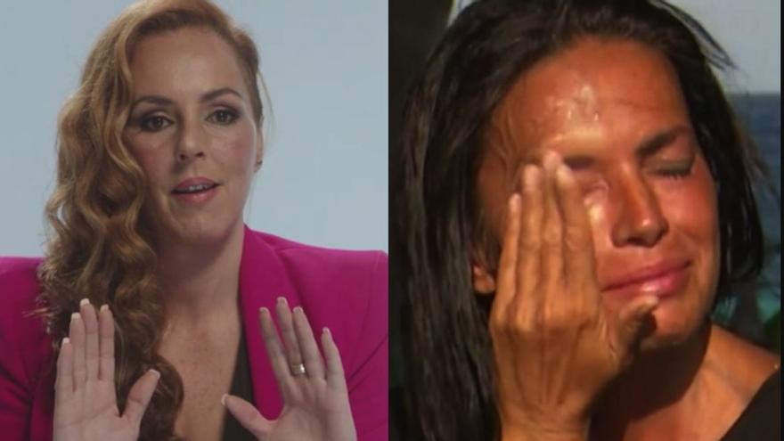 La reacción de Olga Moreno al devastador mensaje de Rocío Carrasco en Supervivientes