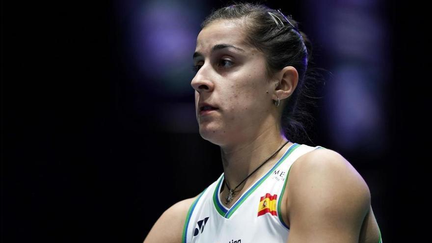 Carolina Marín vive con incertidumbre su situación deportiva