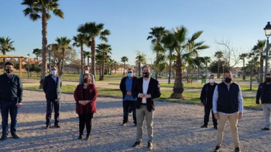 Los Alcázares inaugura una de las mayores zonas de ocio del Mar menor