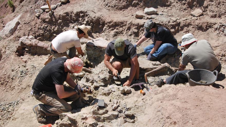 Morella, una mina de restos de dinosaurios