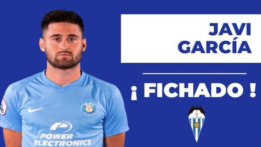 Javi García, primer fichaje del Alcoyano 21-22