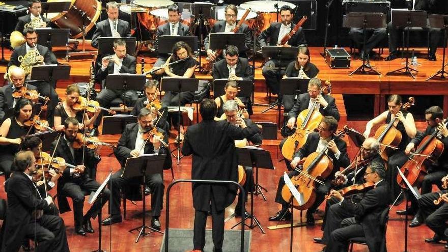 La Orquesta Sinfónica de Galicia, mentora en el Festival de Música Clásica de Vilagarcía
