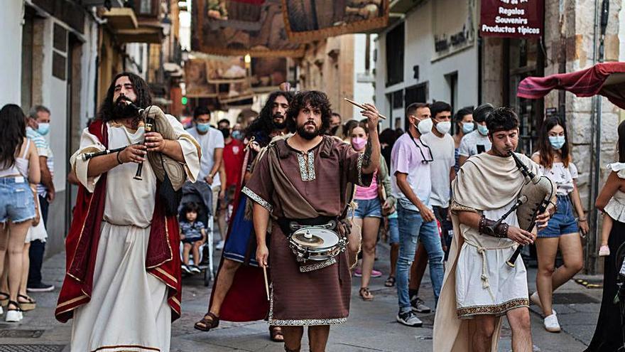 El mercado romano de Zamora cierra sus puertas tras dinamizar el Casco Histórico