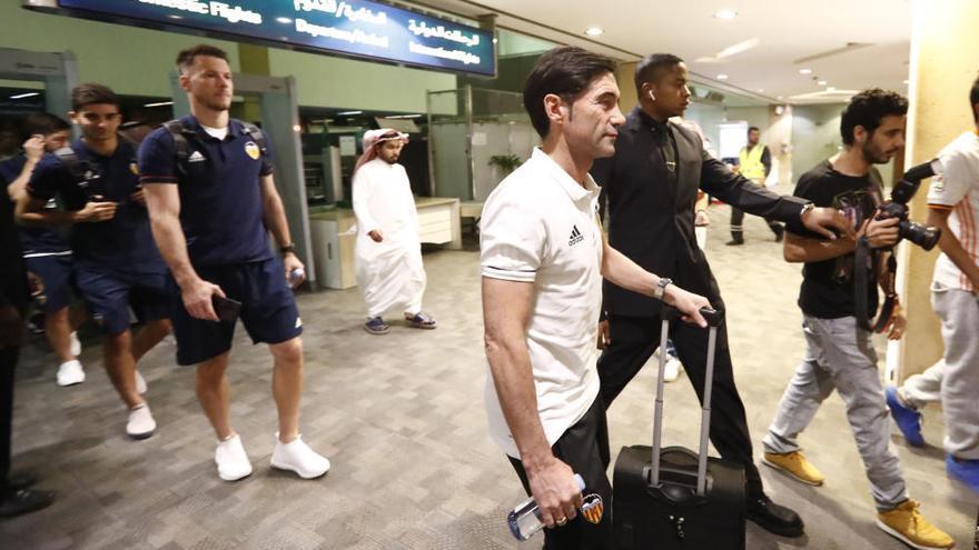 El Valencia se enfrenta a Ronaldinho, Pirlo, Del Piero y Crespo en Arabia Saudí