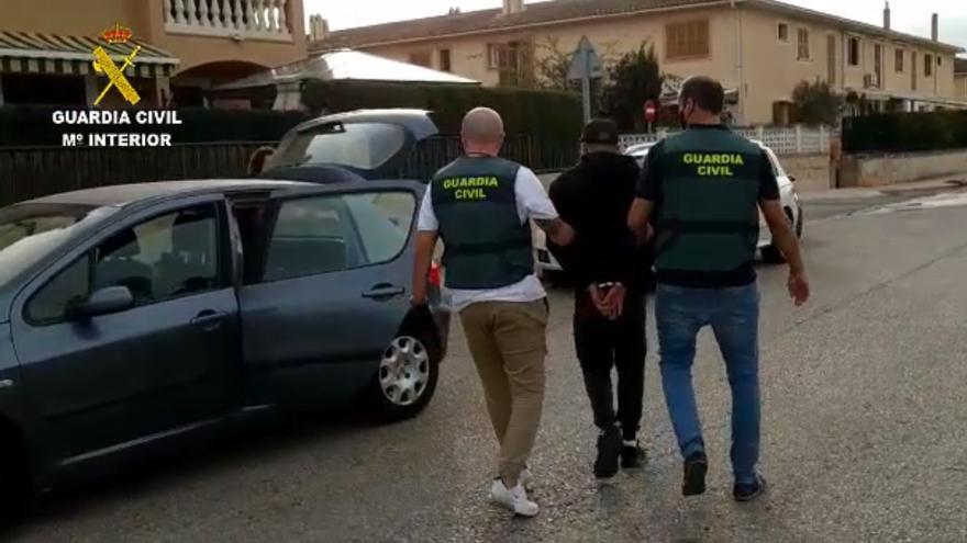 Detenidos dos ladrones por robos en casas habitadas de Marratxí