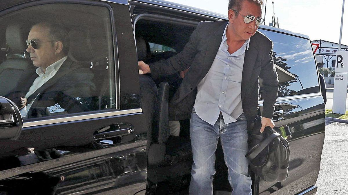 Peter Lim, en una de sus últimas visitas a València. | J.M.LÓPEZ