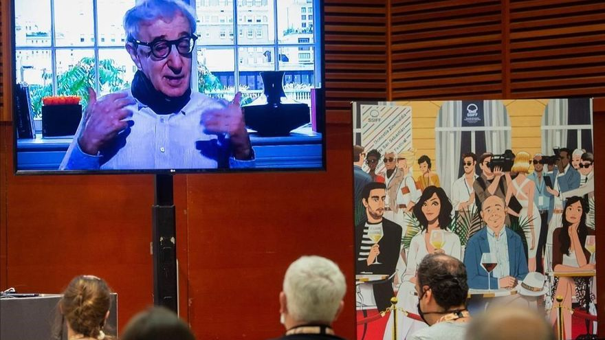 Woody Allen se empacha de San Sebastián en 'Rifkin's Festival'