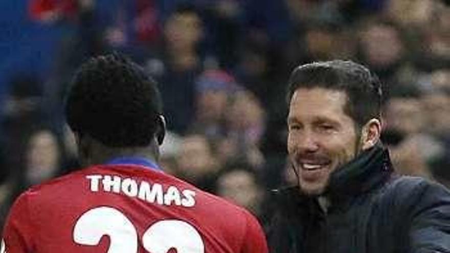 Thomas apunta al once en lugar del sancionado Saúl, mientras que Juanfran continúa al margen del grupo