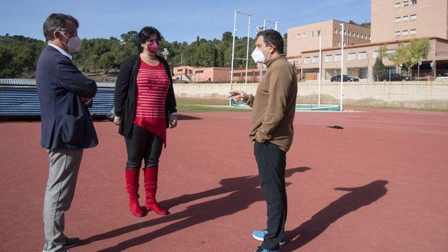 La Diputación trabaja para que Penyeta Roja esté en la élite de la formación deportiva