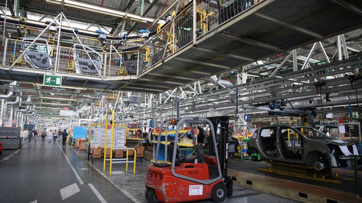 Fábrica de vehículos.