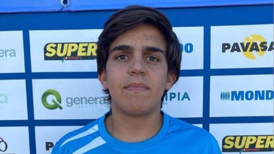 El benalmadense Joaquín Ríos, convocado con la Selección Española sub-18 para el Europeo
