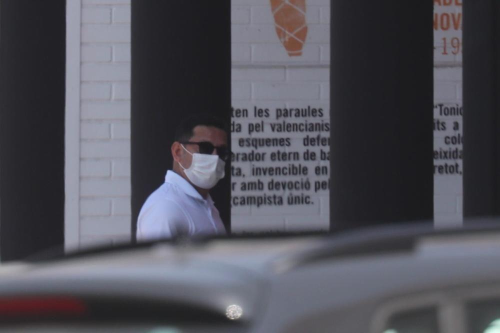 Entrenamiento en Paterna tras caer en Vila-Real
