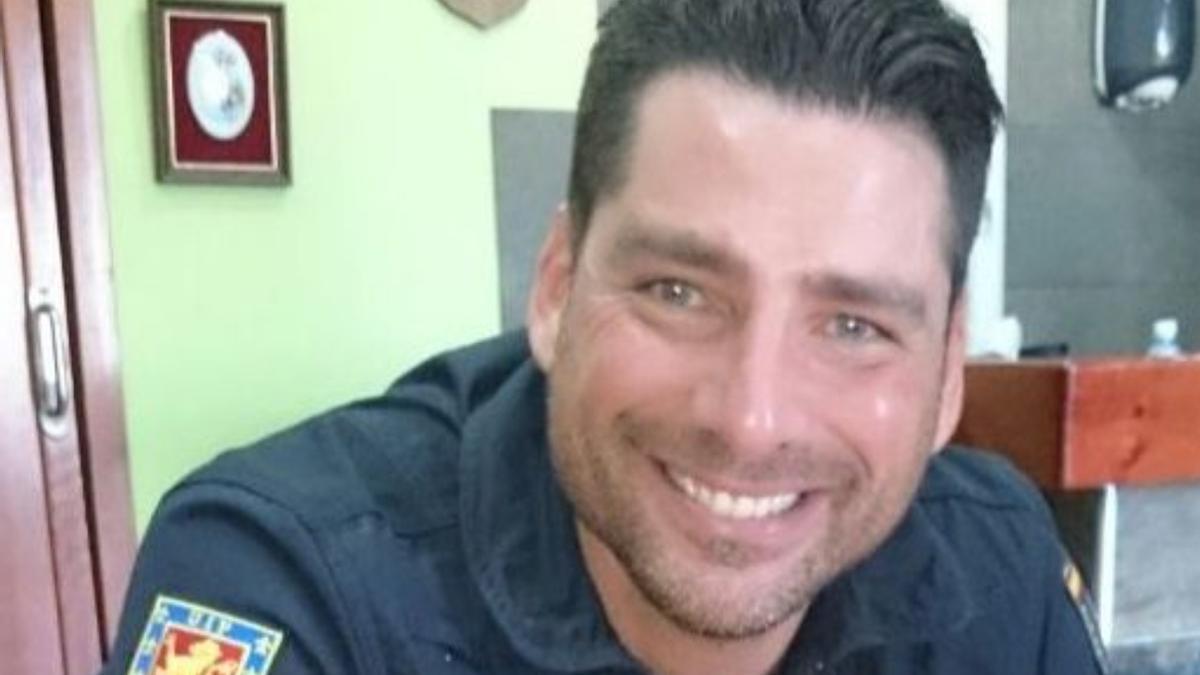 El agente de la Policía Nacional Emilio Pavón