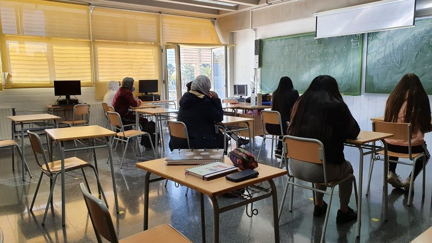 Colegios e institutos de Alicante registran la cifra de contagios más alta de la pandemia