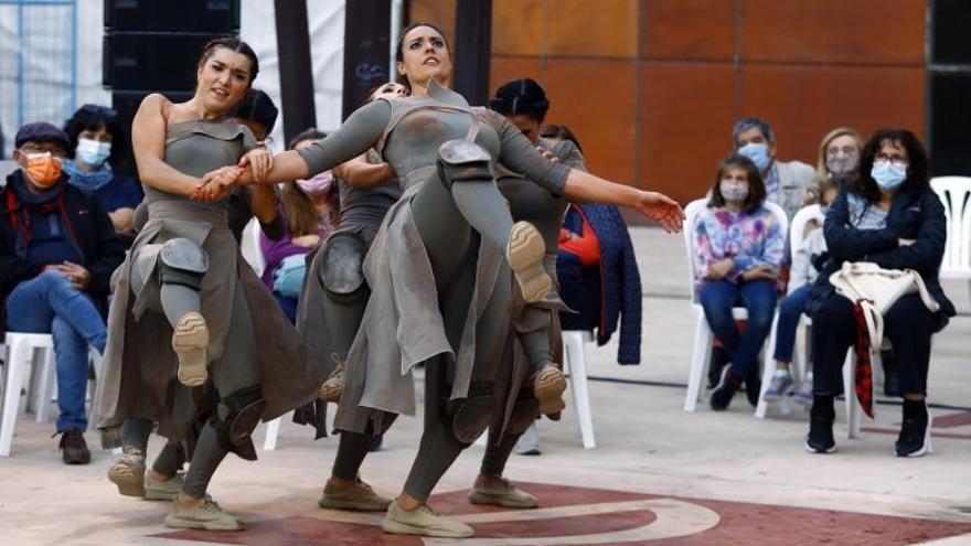 Danza y agua, de la mano en el Centro de Historias