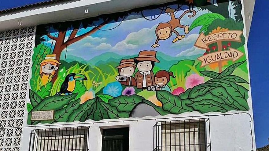 Expertos grafiteros crearán nueve murales en Campanillas