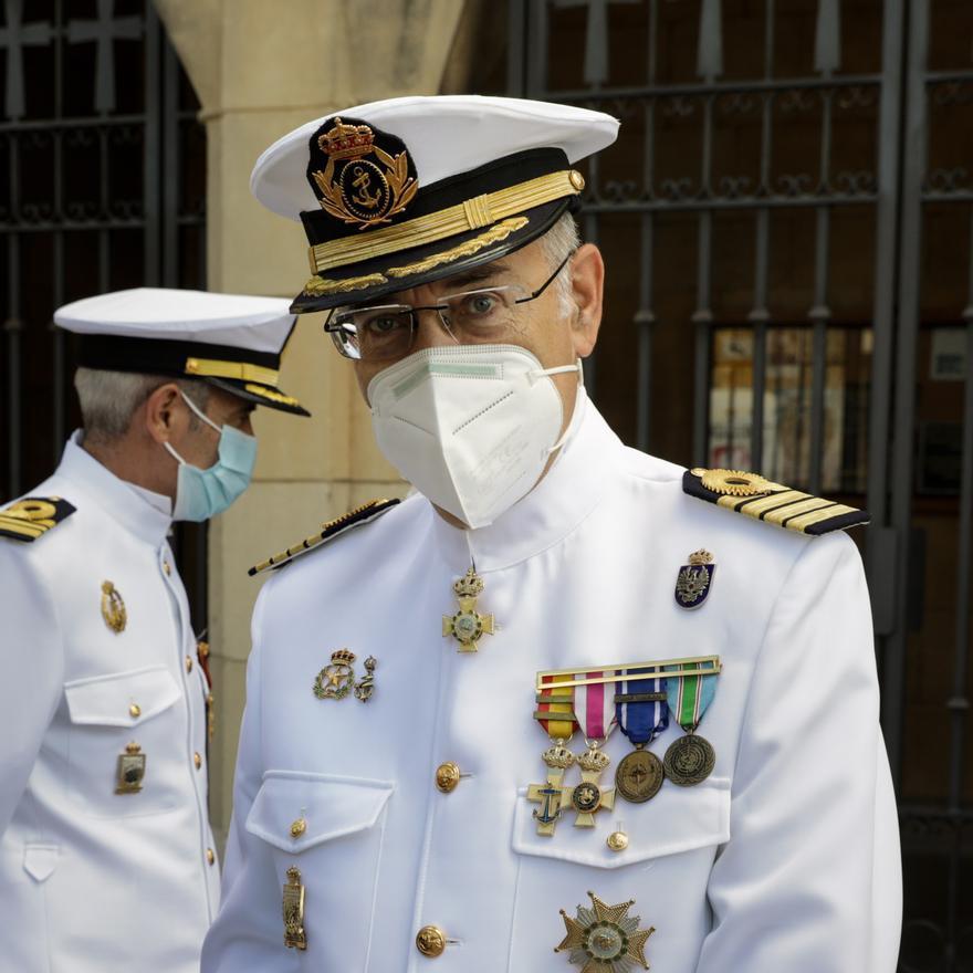 Misa del Carmen en la comandancia naval de Gijón