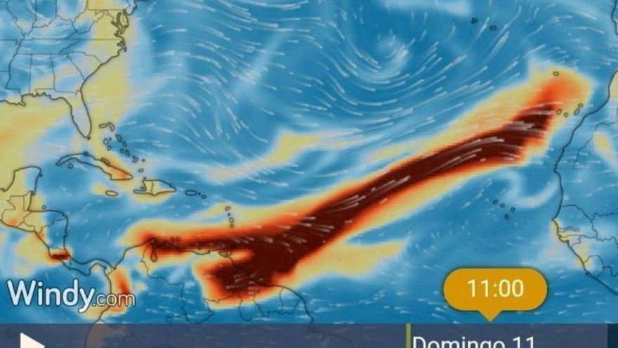 Una nube de dióxido de azufre afectará desde esta tarde a Canarias