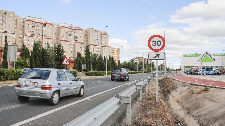Esperan que la limitación a 50 reduzca los accidentes en la avenida del Ferrocarril