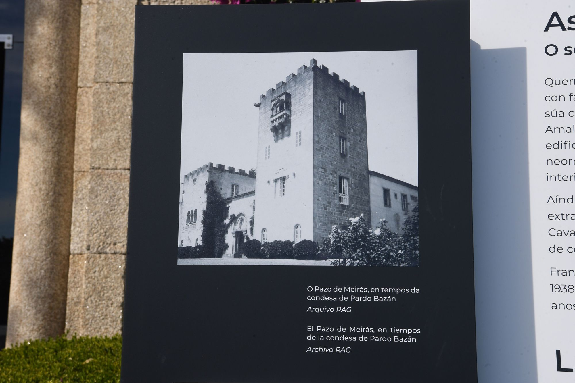 Homenaje del Estado en Meirás a los represaliados del franquismo