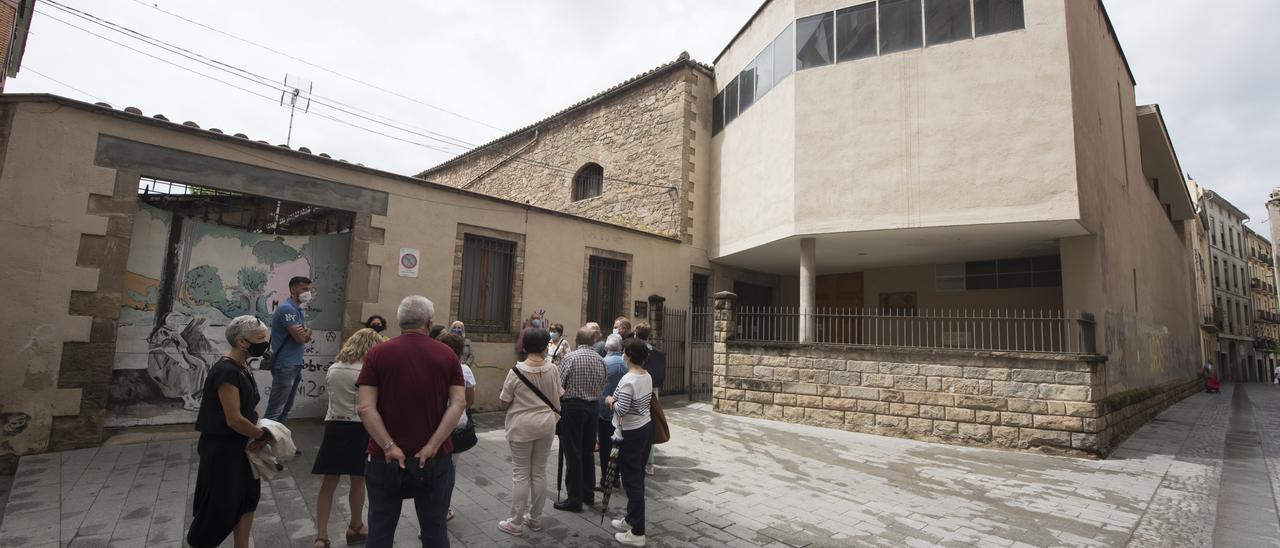 Un passeig per l'interior del convent de les caputxines de Manresa