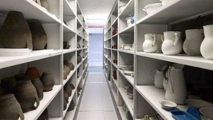 Un museo por dentro: Visita a los almacenes