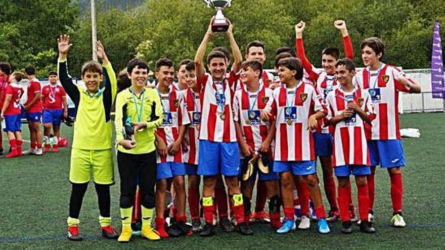 El Portazgo gana el VII Torneo de Fútbol Base y el Olímpico de Rutis queda segundo