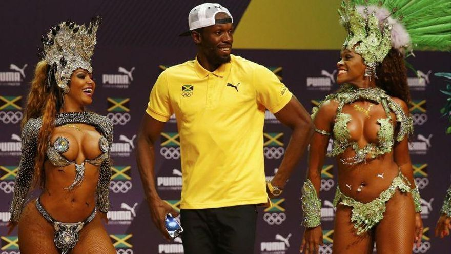 Usain Bolt, a ritmo de samba en sus últimos Juegos Olímpicos