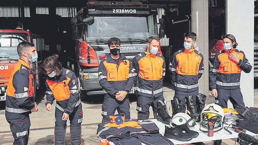 Palmario   Nuevo vestuario y equipamiento para los bomberos