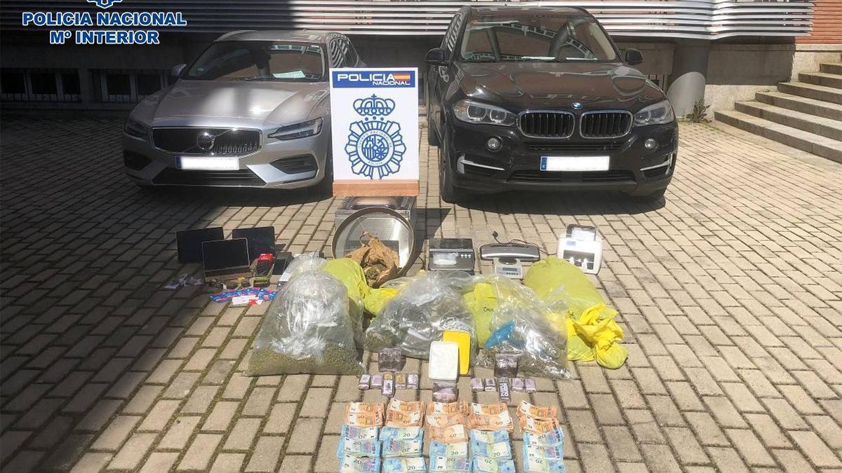 Desarticulado en A Coruña y Madrid un grupo que transportaba cocaína de España hasta Países Bajos